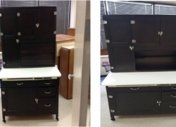 Hoosier Cabinet Refinished in Carol Stream, IL