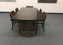 Mahgany-Table-with-Chairs-1100-Furniture-Medic-Carol-Stream-IL