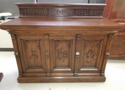 Vintage Church Furniture Refinish in Carol Stream, IL