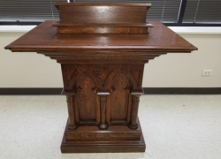 Vintage Church Furniture Repair in West Chicago, IL