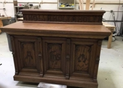Vintage Church Furniture Restoration in Carol Stream, IL