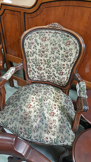 Arm Chair Restoration in Carol Stream, IL - before