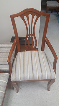 Dining chair in St. Charles, IL - after restoration