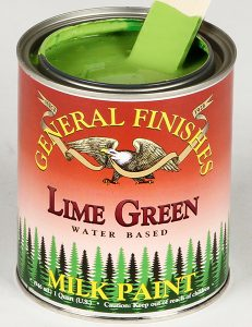 Milk Paint Lime Green