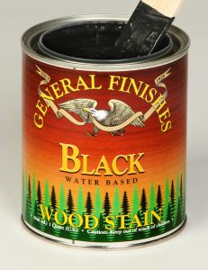 Retail Water Based Wood Stain Black