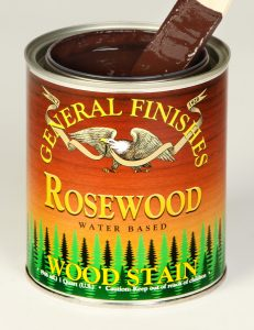 Retail Water Based Wood Stain Rosewood
