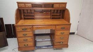 Wood Furniture after restoration - Furniture Medic in West Chicago, IL