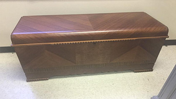 Hope Chest - After Restoration in Carol Stream, Il