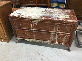 Hope Chest in Wheaton, IL - Before Restoration