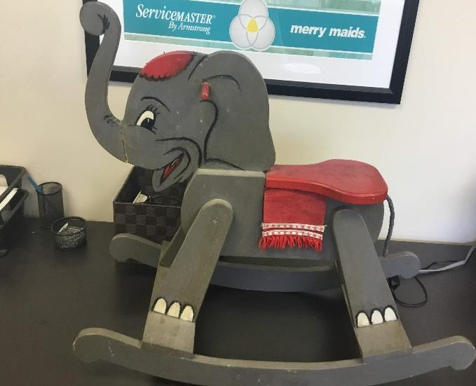 Furniture Medic in Carol Stream, IL - Lenny the Elephant
