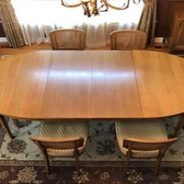 Furniture Medic by MasterCare Experts Renovates Vintage Dining Room Set