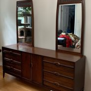 Furniture Medic by MasterCare Experts Restores and Refinishes Dressers Handed Down from Customer's Parents