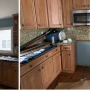 Furniture Medic by MasterCare Experts Restores Wet Kitchen Cabinets