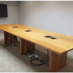 Furniture Medic Fabricates Custom Conference Table for New Business