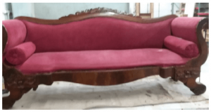 Disaster Wood Furniture Refinishing and Restoration Before