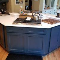 Furniture Medic by MasterCare Experts Fabricates Custom Kitchen Island