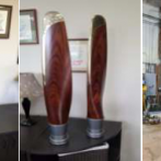Furniture Medic by MasterCare Experts Restores Wooden Propellers from Beechcraft Staggerwing Airplane
