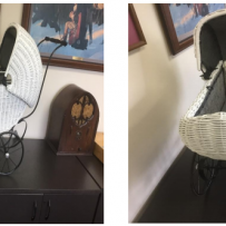 Furniture Medic by MasterCare Experts Restores Antique Stroller Owned by Customer's Great Grandmother